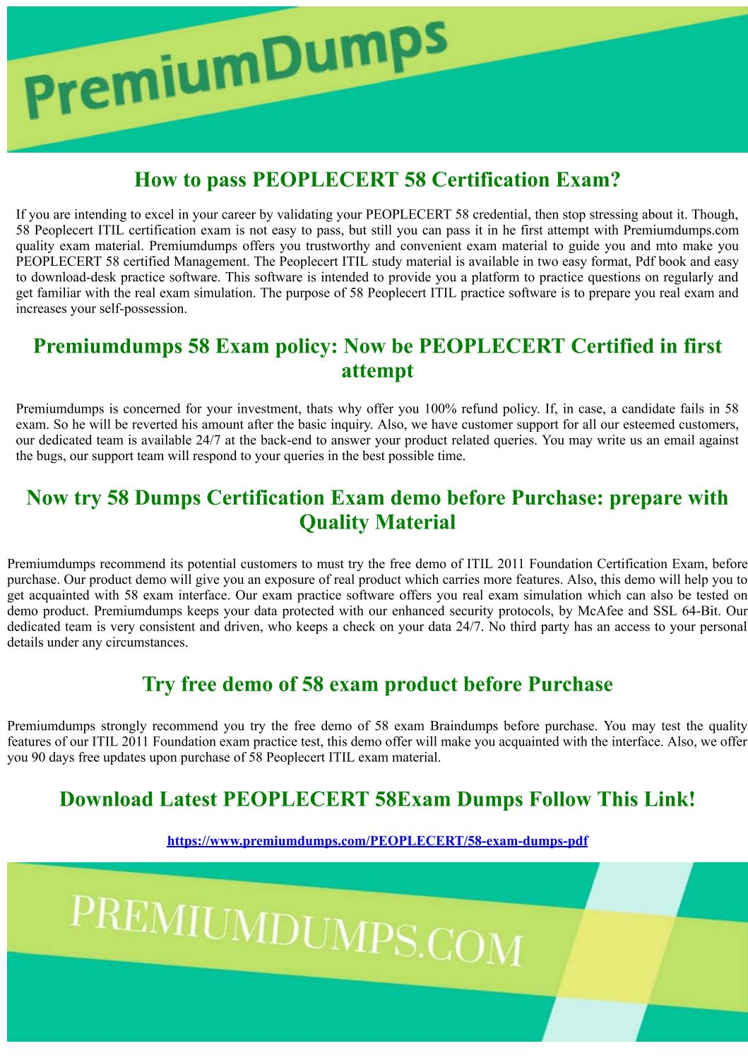 Peoplecert 58 Itil 2011 Foundation Exam Questions By Geraldbeahm Issuu