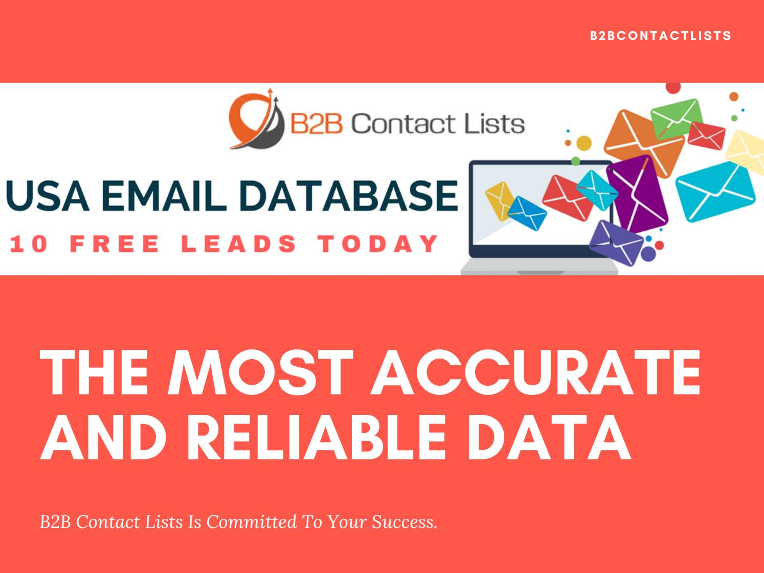 USA Email List | US Business Executives Mailing Addresses