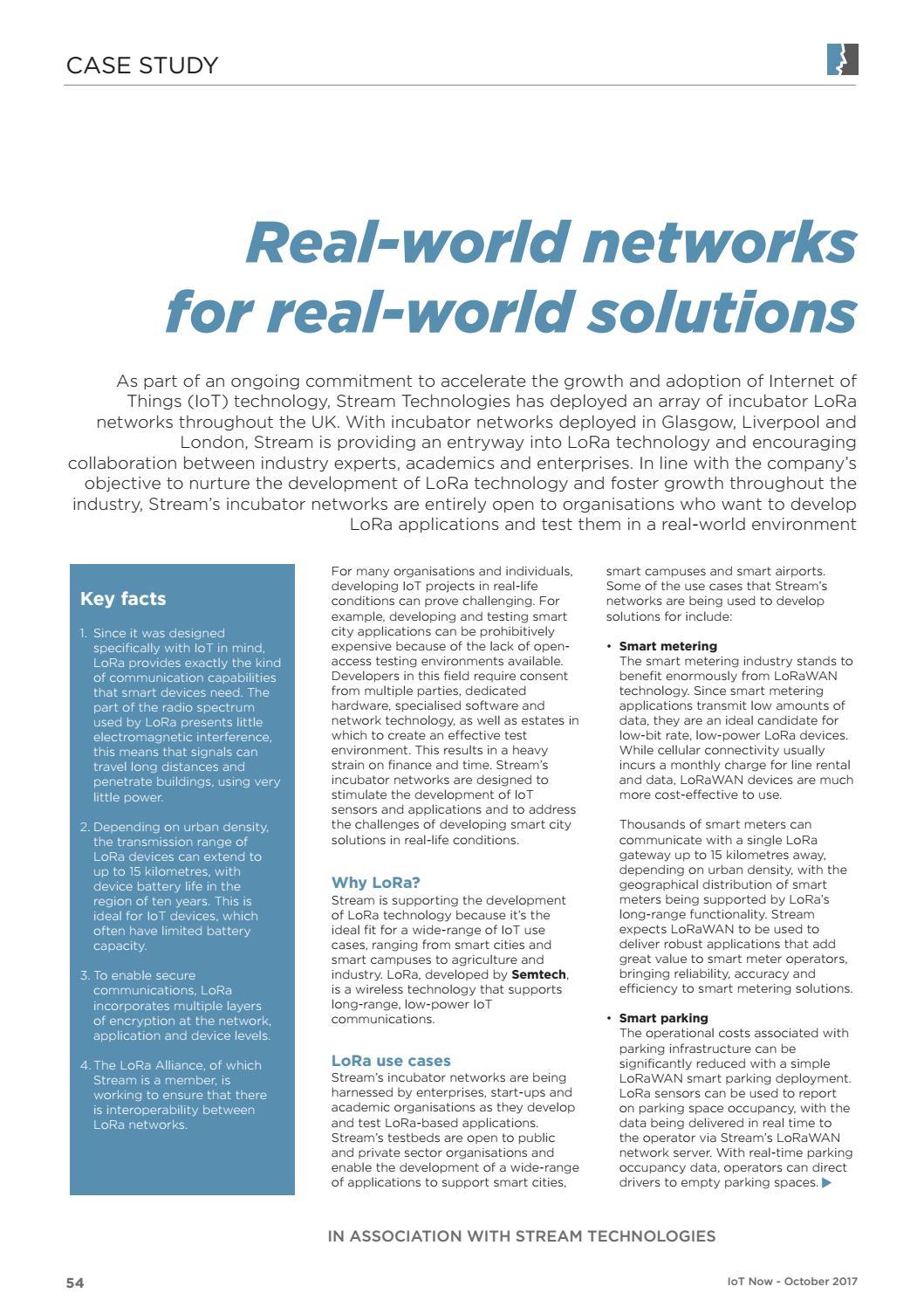 IoT Now Magazine LPWA by Prestige Media - issuu