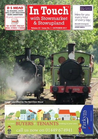 e025324f In touch news with stowmarket oct 2017 by Mansion House Publishing ...