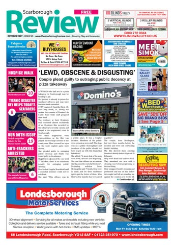 Scarborough review october 2017 by your local link ltd issuu page 1 solutioingenieria Images