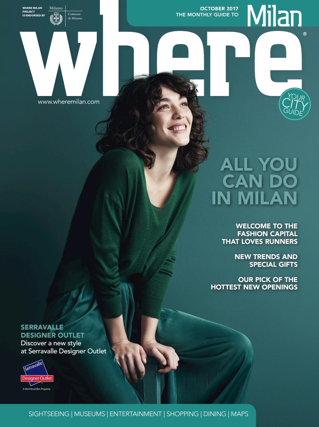 Where Milan N 84 October 2017 By Where Italia Issuu