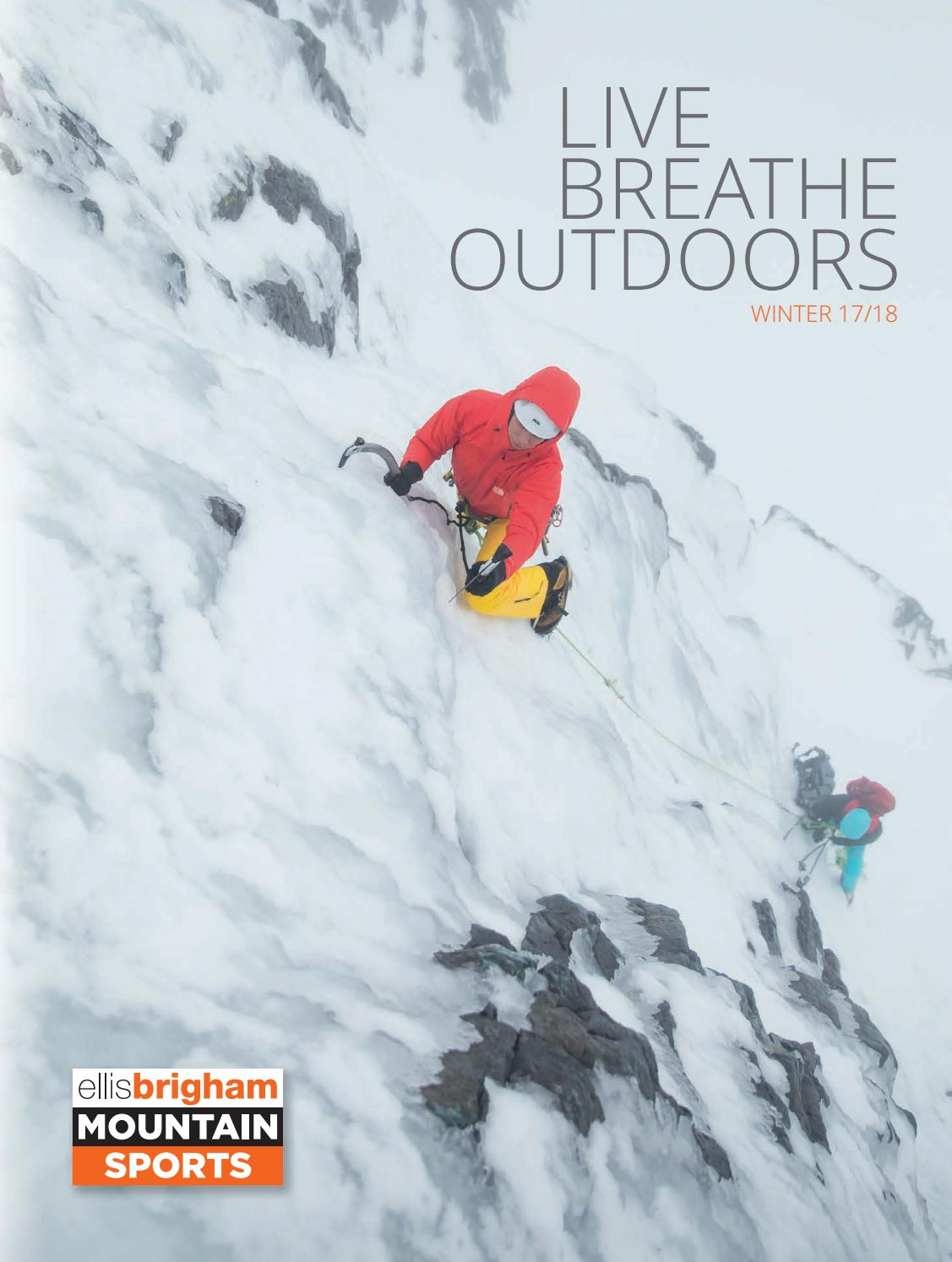 LIVE.BREATHE.OUTDOORS WINTER 1718 by Ellis Brigham Mountain
