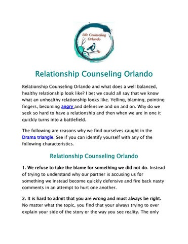 Relationship counseling orlando by sally high issuu relationship counseling orlando relationship counseling orlando and what does a well balanced healthy relationship look like i bet we could all say that solutioingenieria Image collections