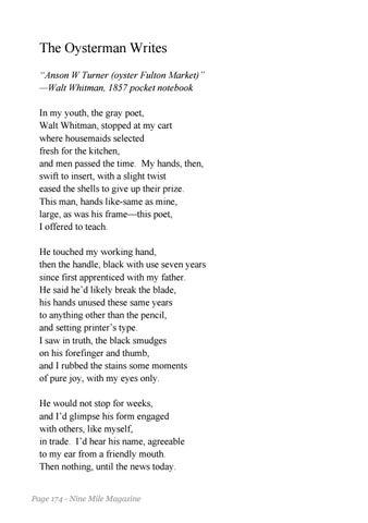 a glimpse walt whitman