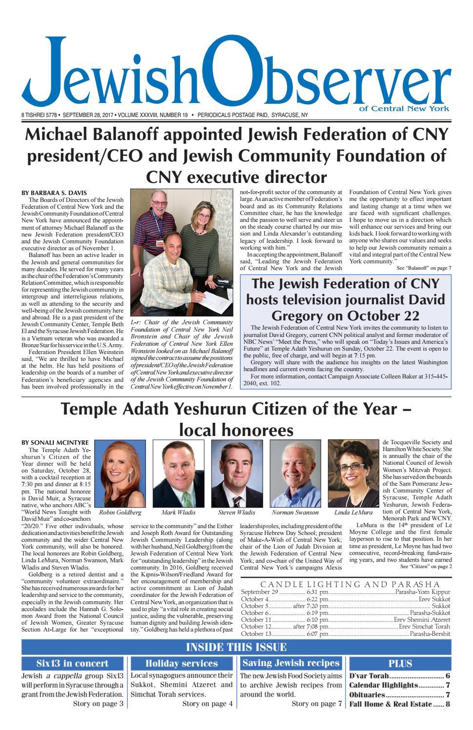 Syr0926 by Jewish Federation of CNY - issuu