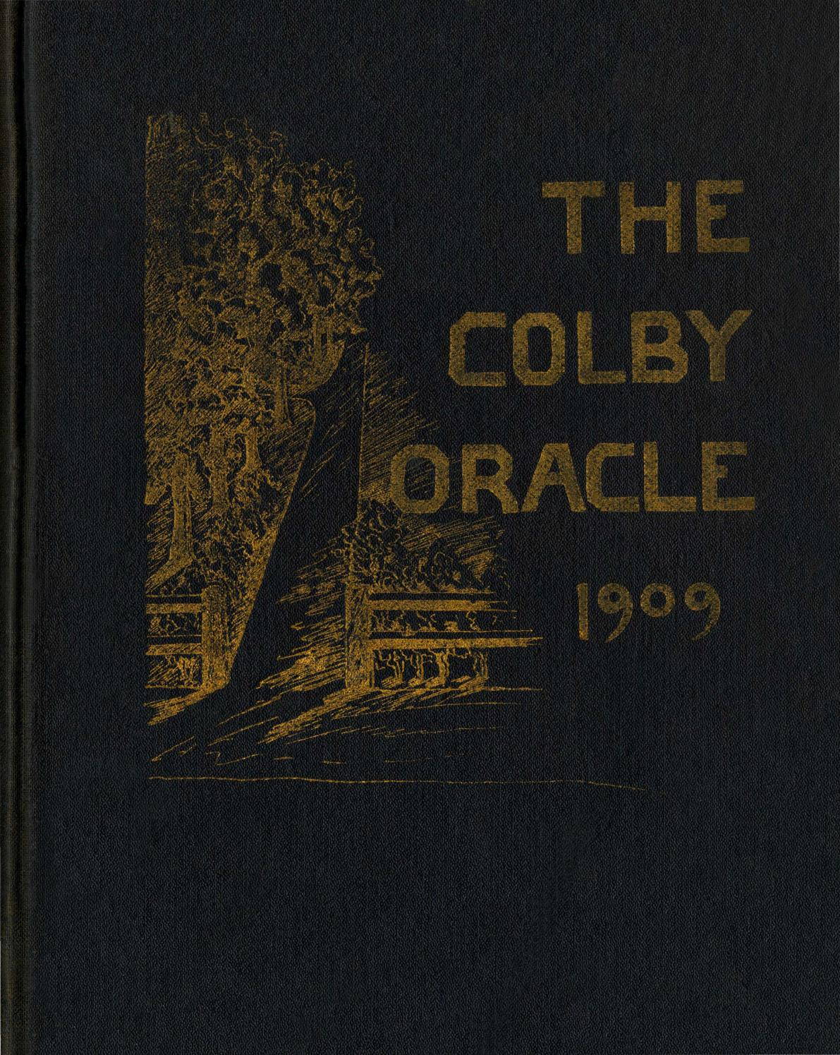 The Colby Oracle 1909 by Colby