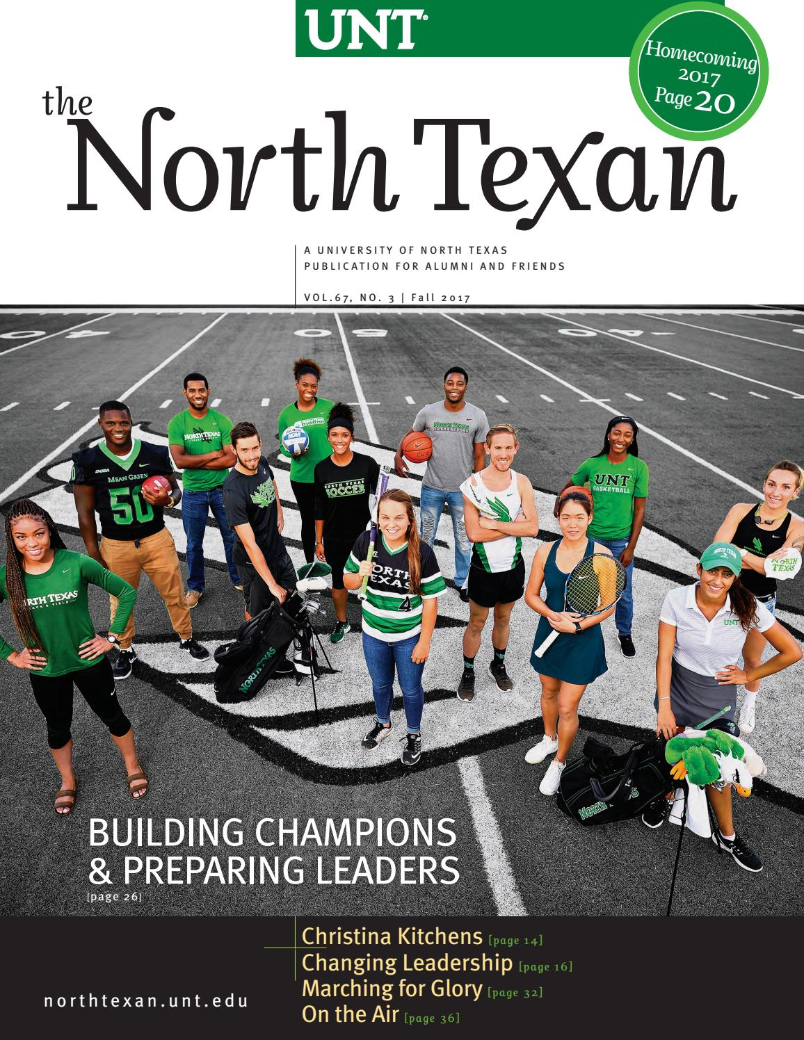 The North Texan - UNT Alumni Magazine - Fall 2017 by University of North Texas - issuu
