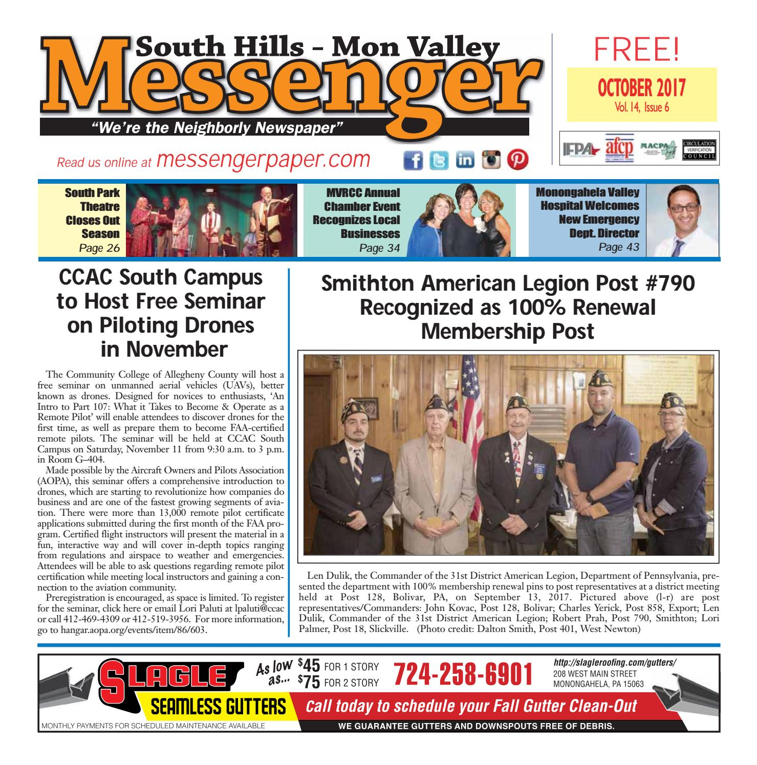 South hills mon valley messenger november 2014 by south hills mon south hills mon valley messenger october 2017 fandeluxe Choice Image