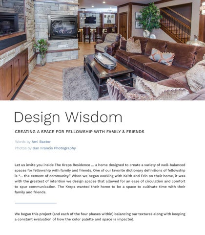 Page 64 of Design Wisdom - Creating a Space for Fellowship with Family & Friends