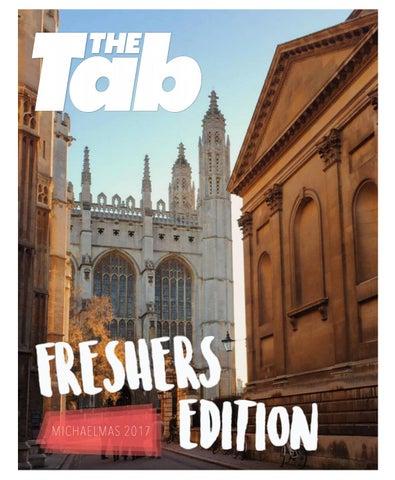 The Tab Cambridge Freshers Edition