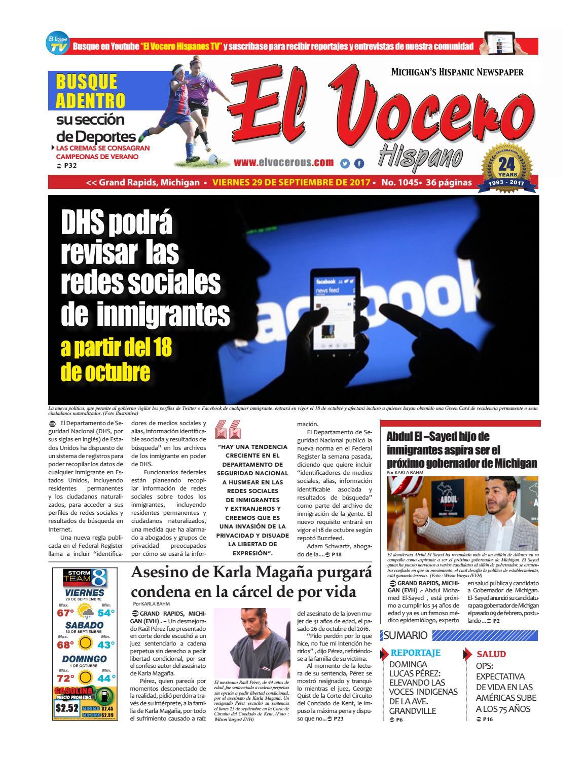 El Vocero Hispano by El Vocero Hispano - issuu