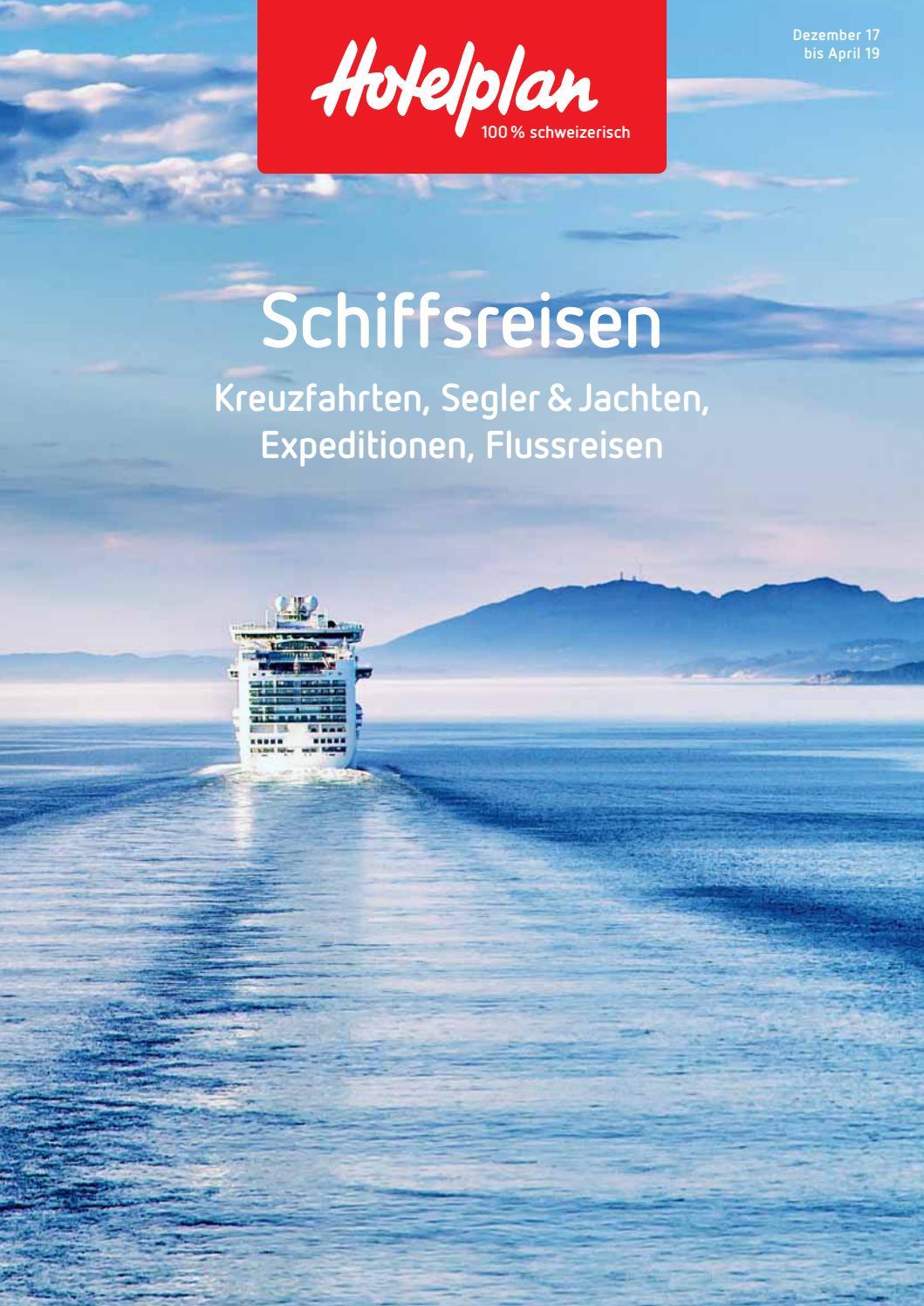 Hotelplan Schiffsreisen – von Dezember 2017 bis April 2019 by ...