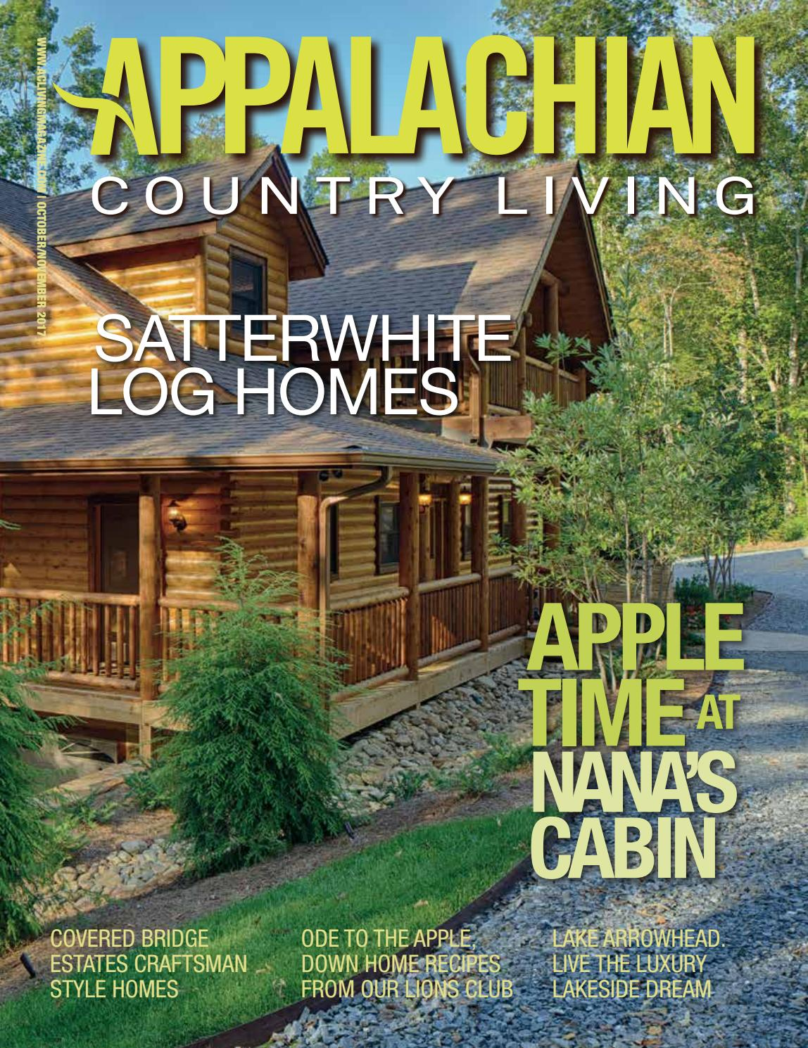 Appalachian country living magazine october november 2017 for Where is the horseshoe in country living october 2017
