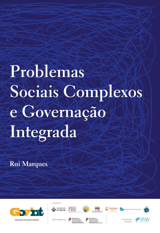 Problemas Sociais Complexos e Governação Integrada by Instituto Padre  António Vieira - issuu 9a64d9ab5b4aa