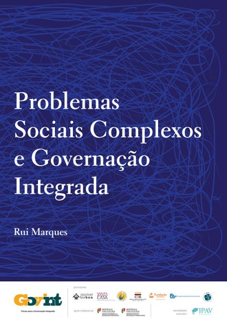 Problemas sociais complexos e governao integrada by instituto page 1 fandeluxe Gallery