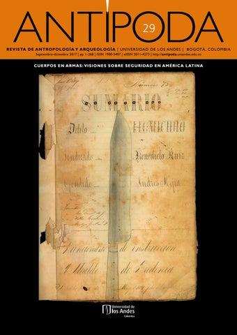 Antípoda. Revista de Antropología y Arqueología No. 29 by ... b4df023938d37