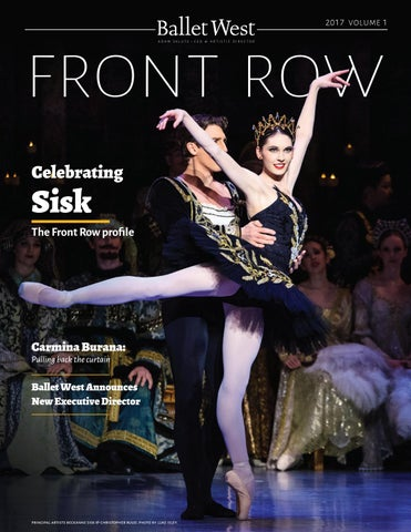 Front Row 2017/18 Volume1 by Ballet West - issuu