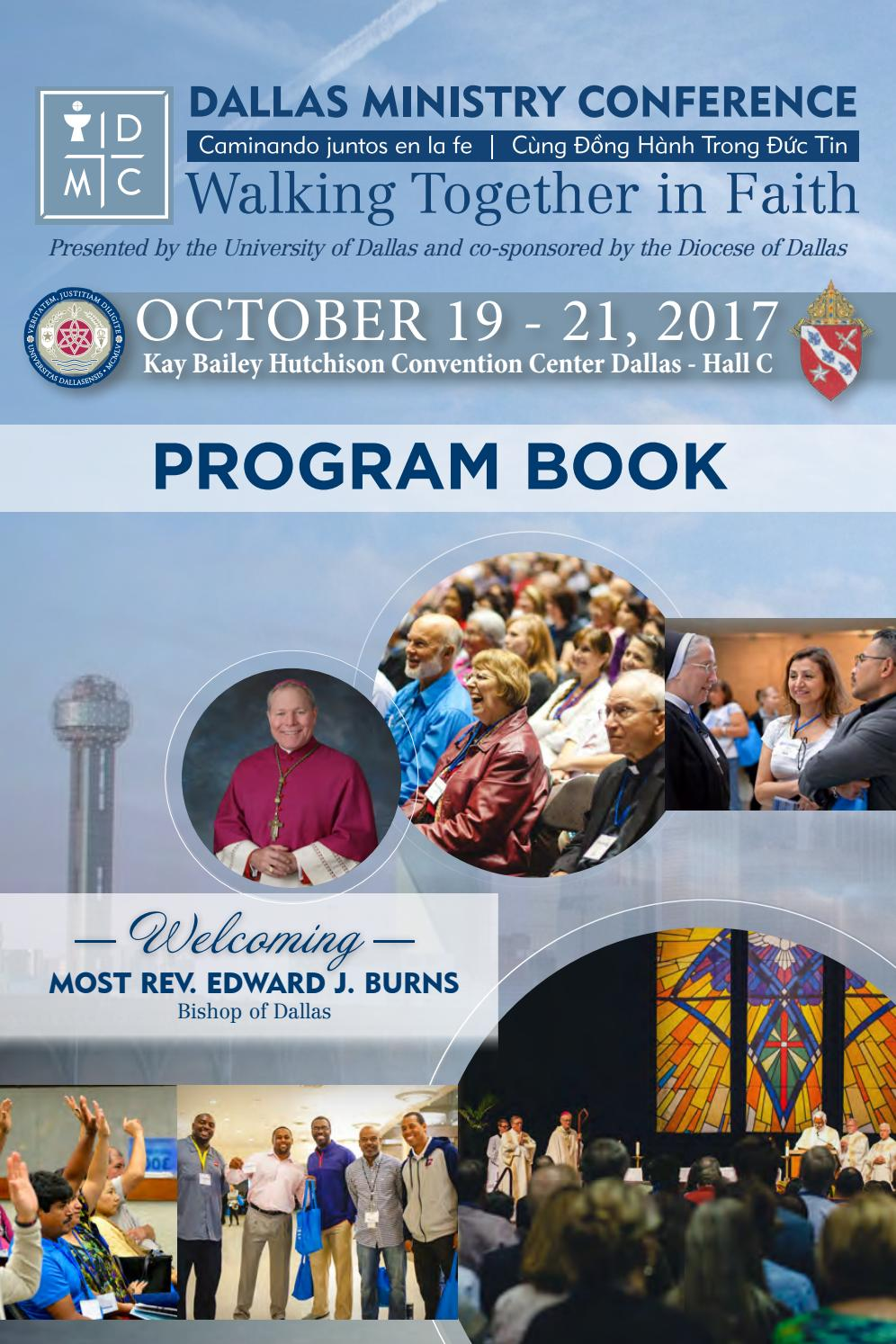 2017 DMC Program Book by Dallas Ministry Conference - issuu