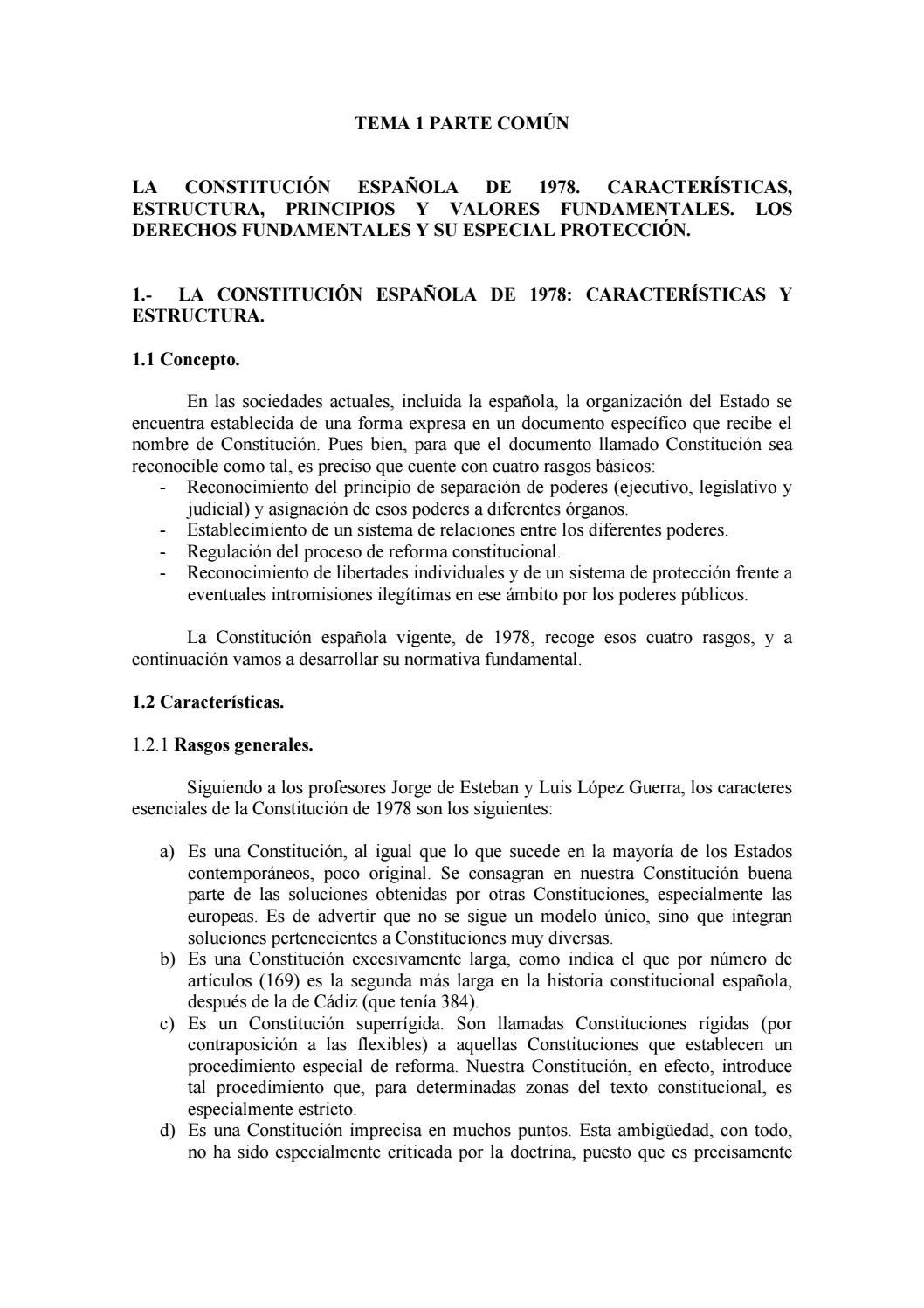 Tema 01 Constitución Orincipios Fundamentales Unlocked By Ok