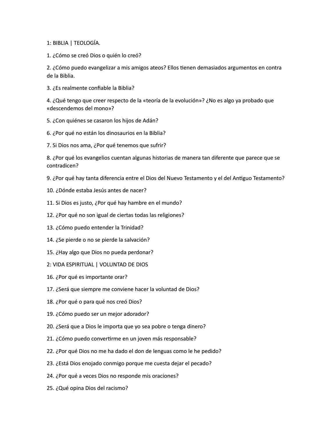 Preguntas difciles 101 respuestas directas by el arte de servir issuu fandeluxe Images