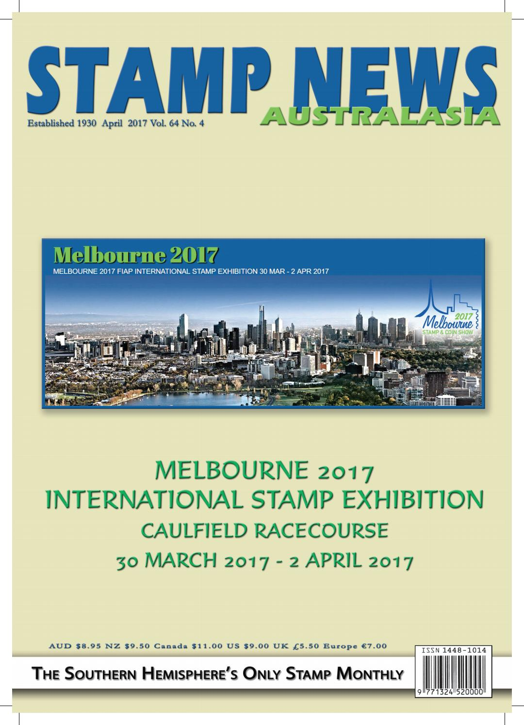 Stamp News Australasia - April 2017 by Stamp News Australasia - issuu