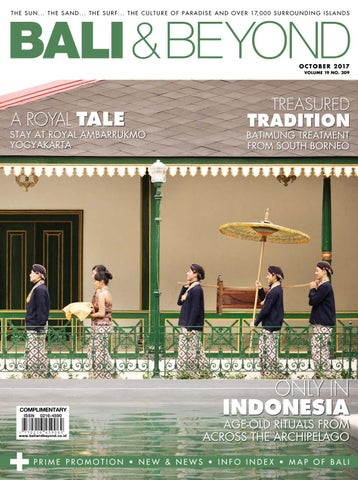 Bali & Beyond Magazine October 2017