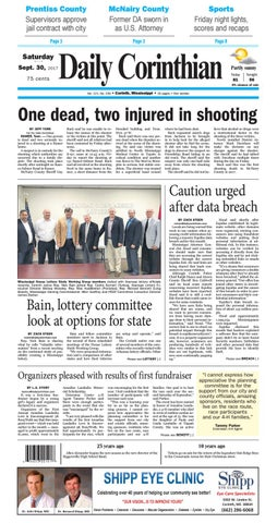 093017 Daily Corinthian E Edition By Daily Corinthian Issuu
