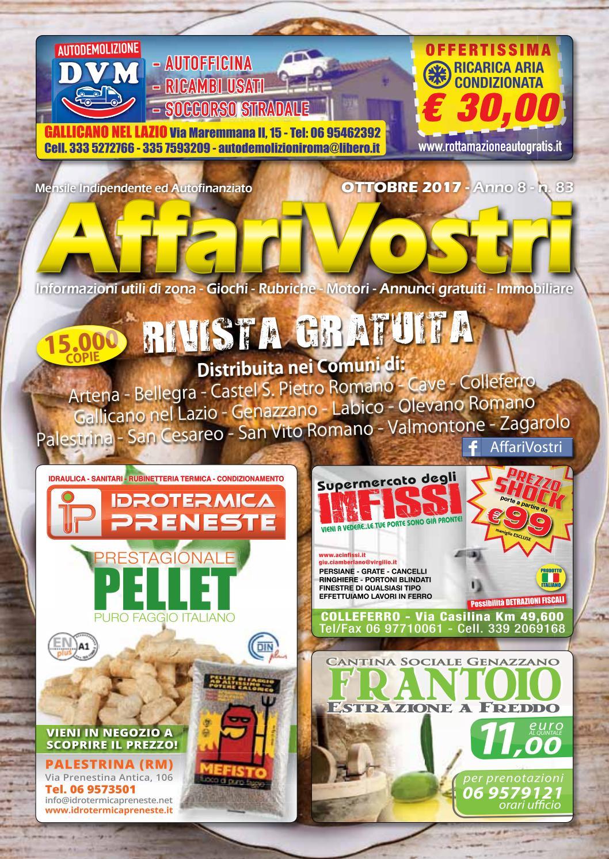 Supermercato Della Ceramica Roma Via Casilina.082bozzaaffarivostrisettembre2017 By Pubbligrafik Issuu
