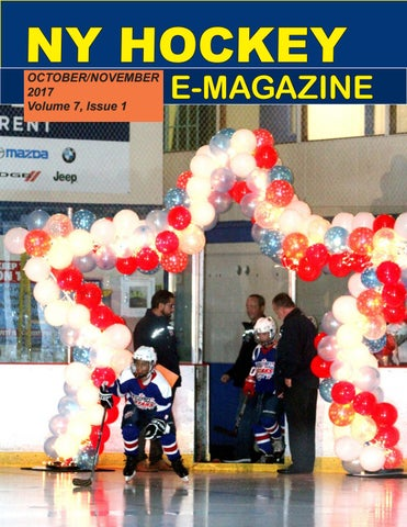 Ny Hockey October November 2017 Volume 7 Issue 1