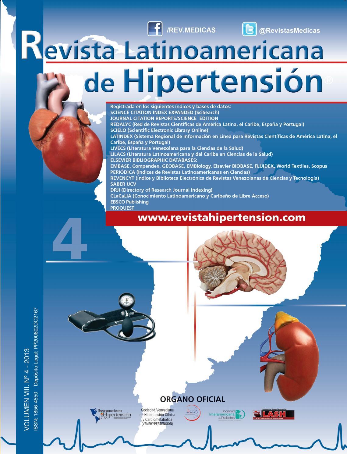 Protocolo de detección azul y blanco para hipertensión