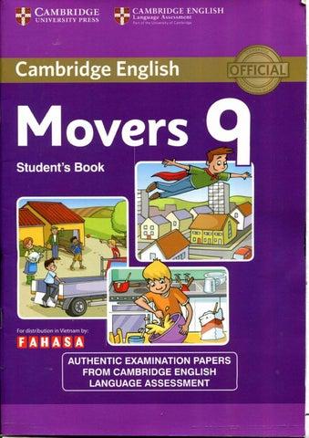 Cambridge Movers Book