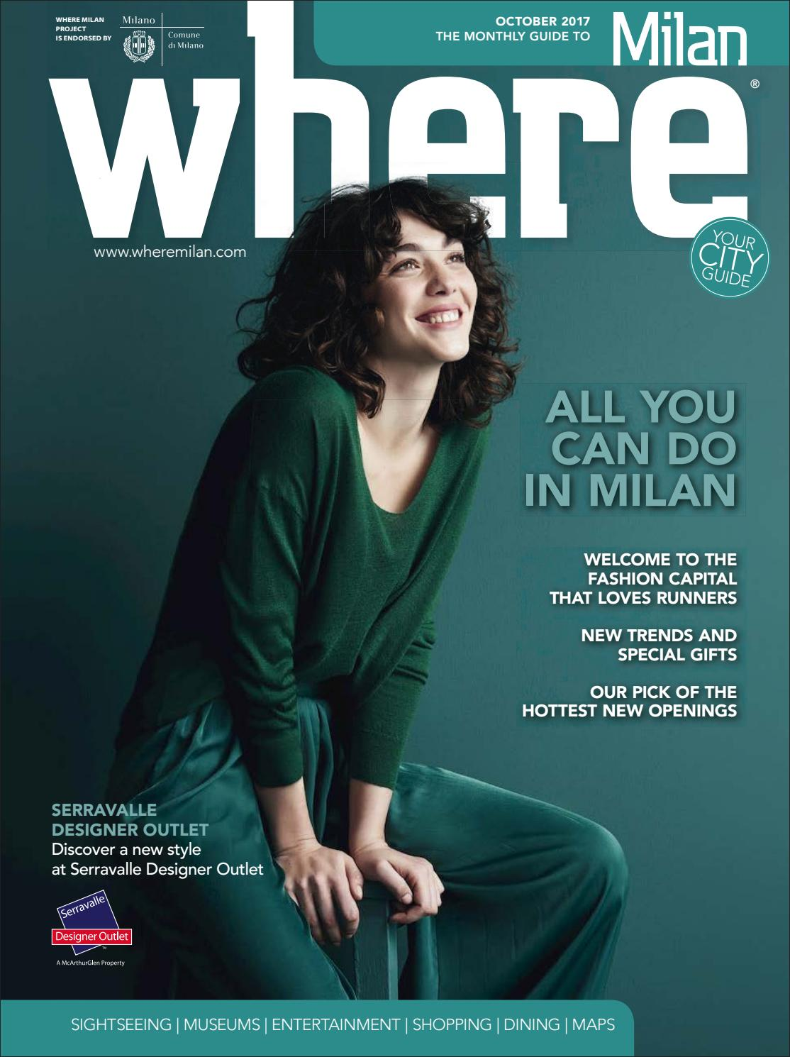 Where Magazine Milan October 2017 by Morris Media Network - issuu bd64f5cba