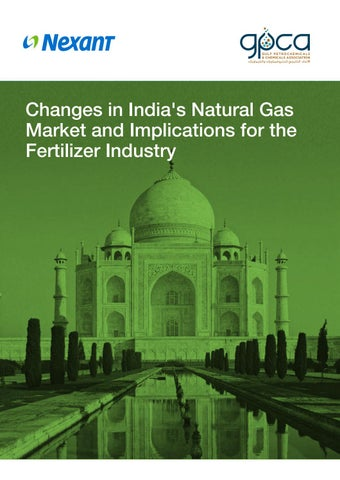 Changes in India's Natural Gas Market and Implications for the Fertilizer  Industry