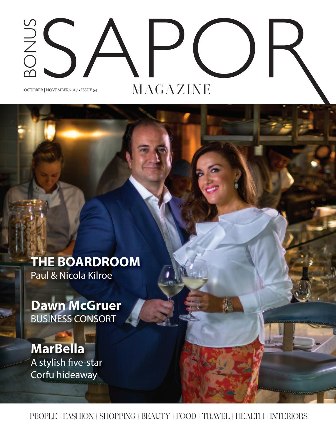 2249cf6e3d33d Bonus Sapor Magazine Oct ~ Nov 2017 by Salutions - issuu