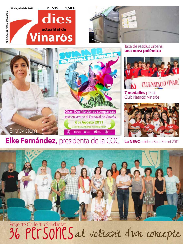 7dies actualitat de Vinaròs 519 - 29 de juliol de 2011 by