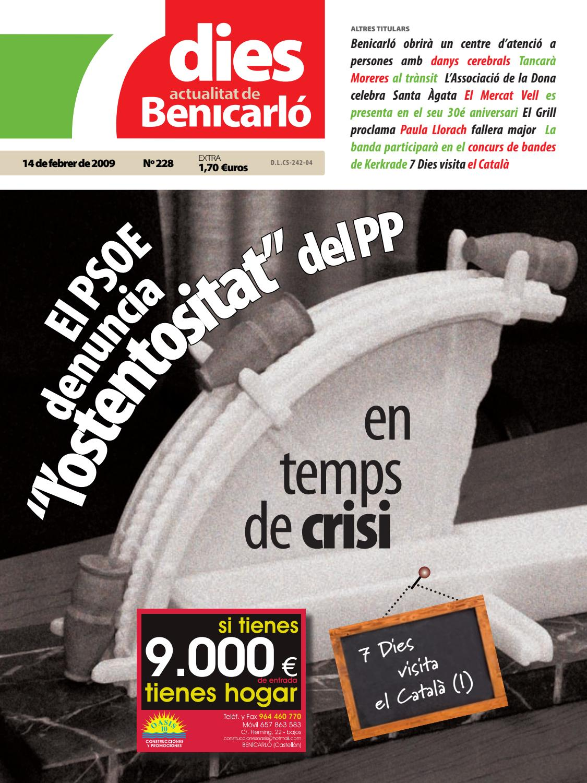 Muebles Giner Benicarlo - 7 Dies Actualitat De Benicarl 228 14 De Febrer De 2009 By [mjhdah]https://image.isu.pub/171002123914-050ae040be7dcd7db37b766072f7f438/jpg/page_1.jpg