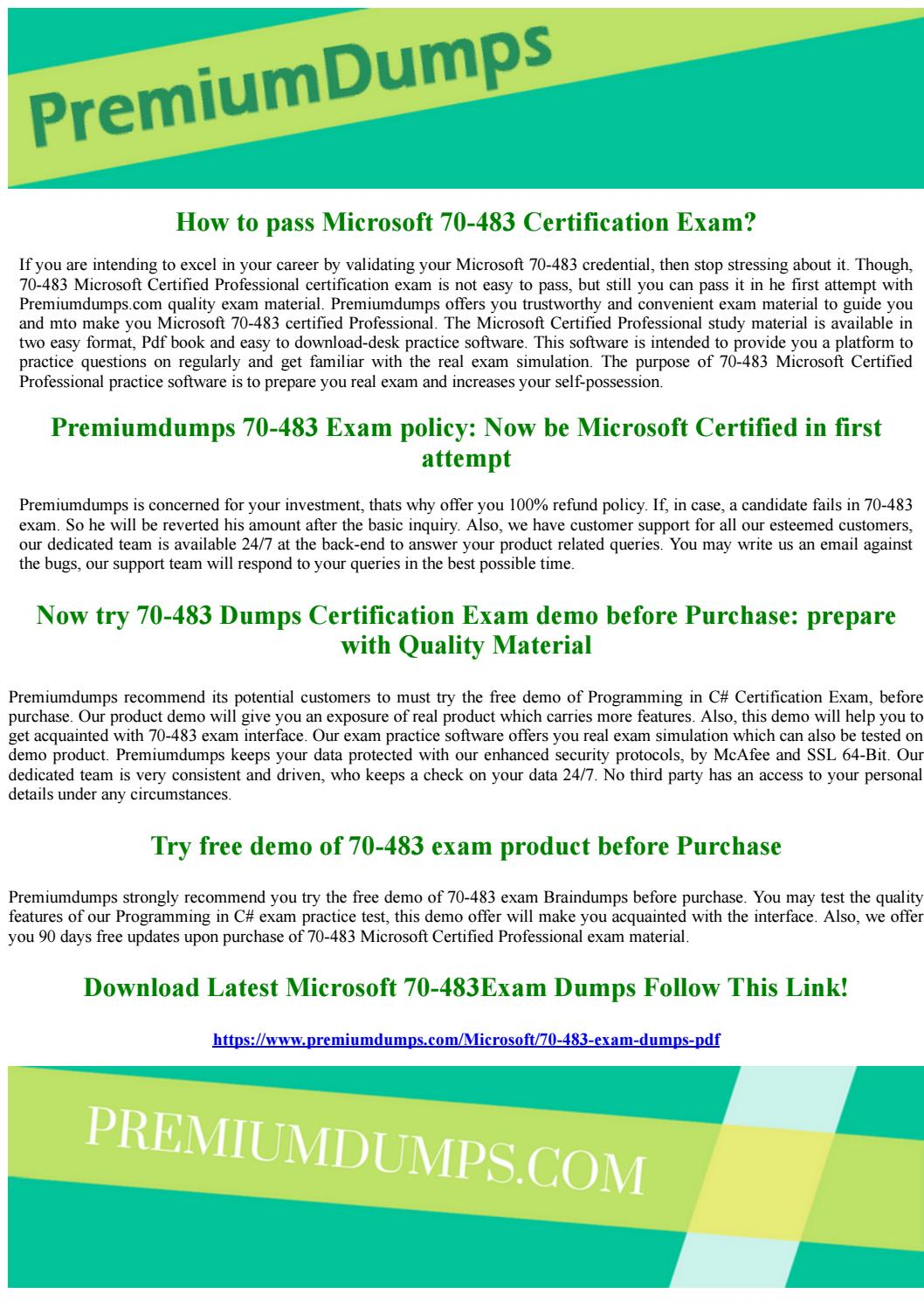 70 483 microsoft certified professional exam questions by 70 483 microsoft certified professional exam questions by geraldbeahm issuu xflitez Images