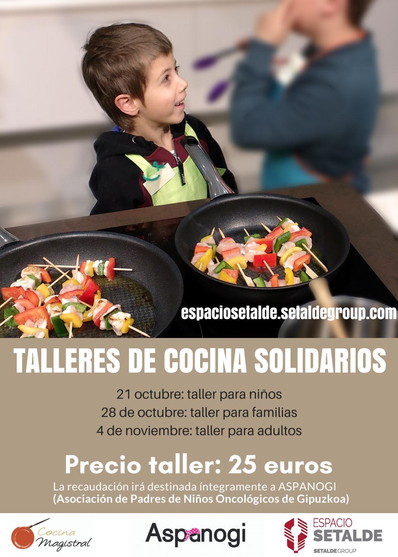 Talleres de cocina solidarios by setalde issuu for Taller de cocina teruel