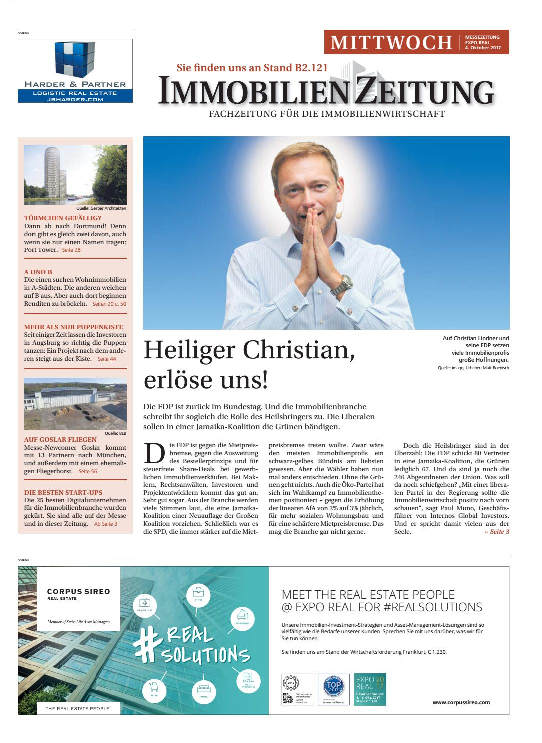 04 10 messezeitung by Immobilien Zeitung Verlagsgesellschaft mbH - issuu