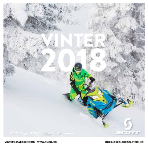 0ae5e6f72 Vinterkatalogen 2018 by Ruco Scandinavia - issuu