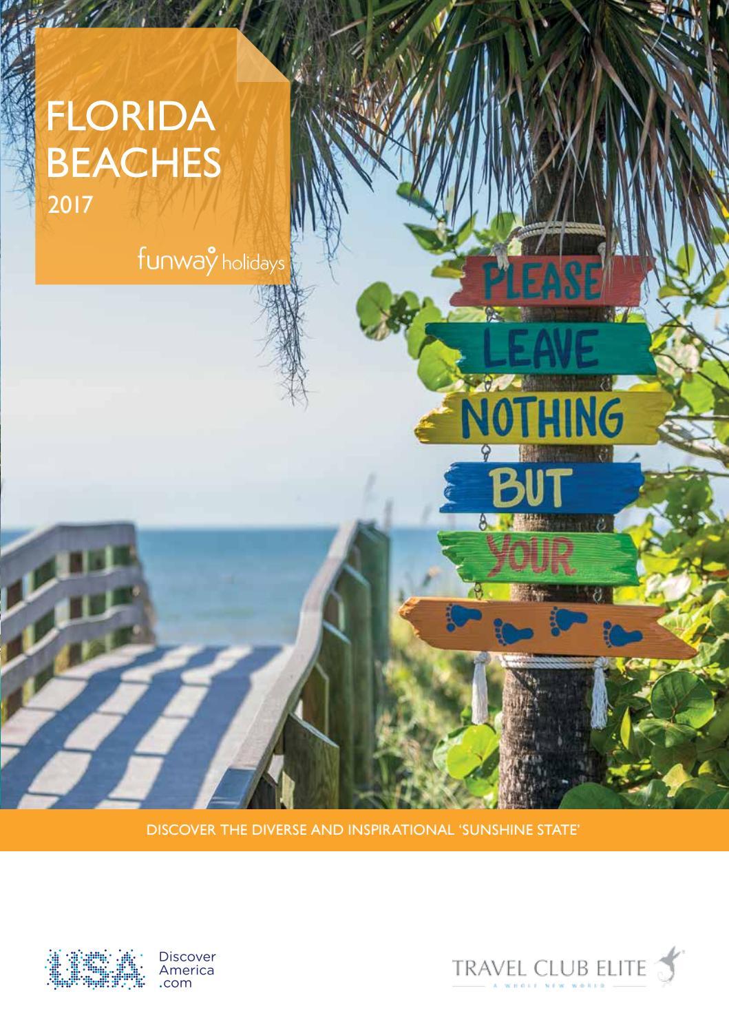 Florida Beaches Brochure Travel Club