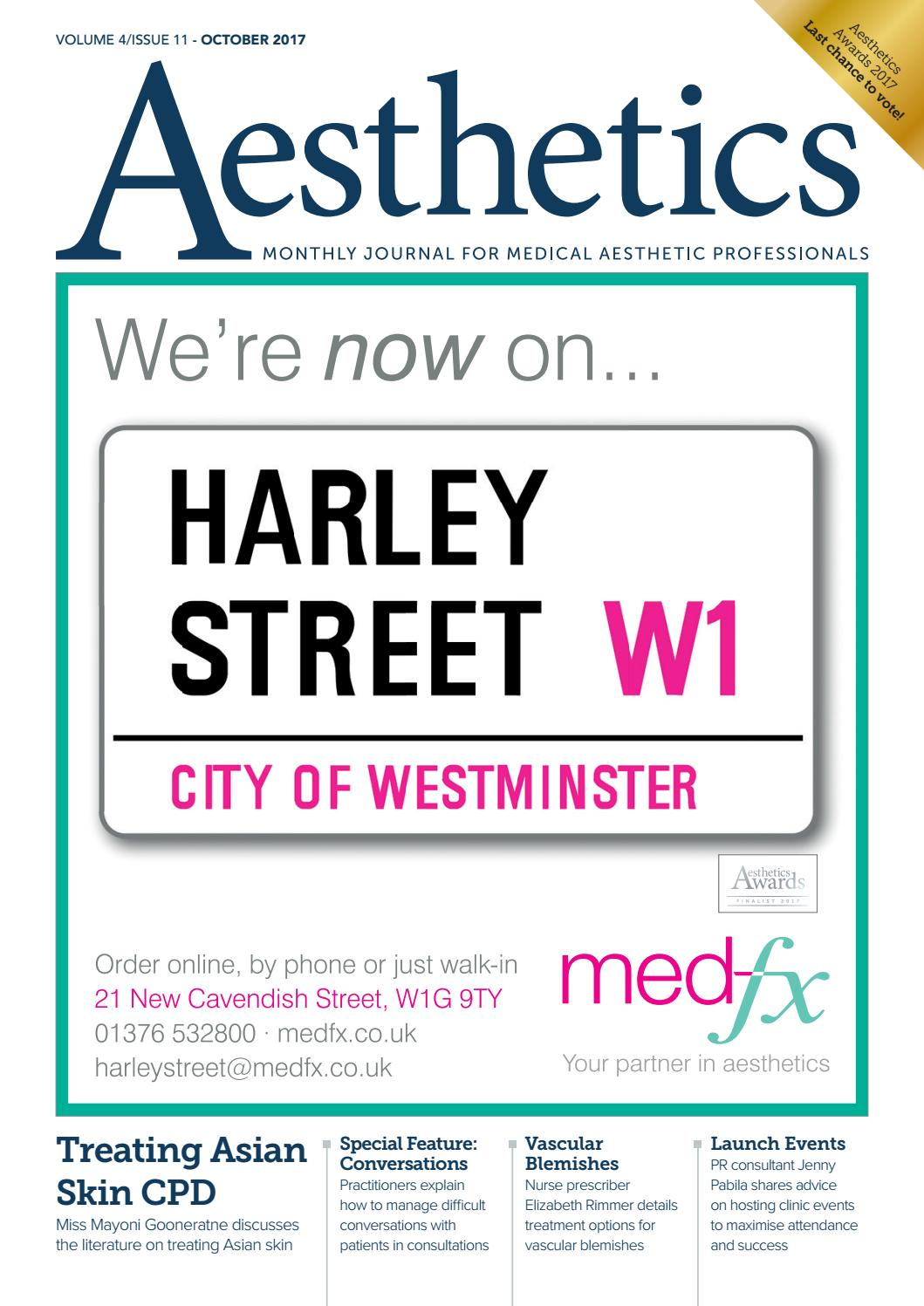 Aesthetics October 2017 by Aesthetics Journal - issuu