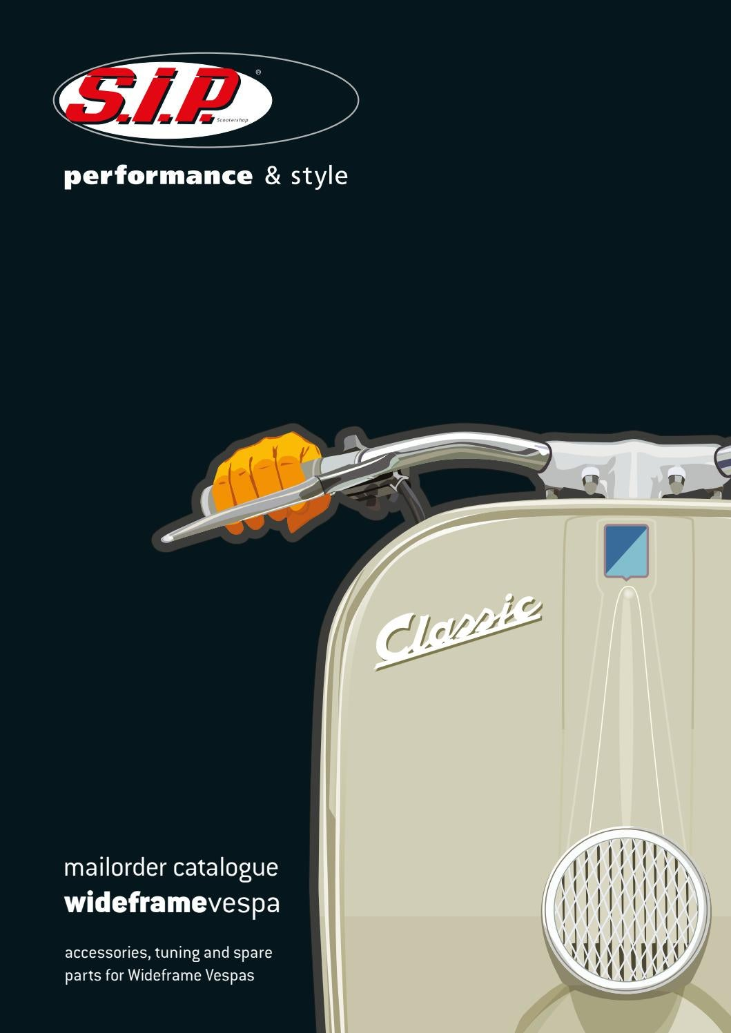 Wideframe Vespa Catalogue Sip Scootershop 2018 By Gl Wiring Diagram Gmbh Issuu