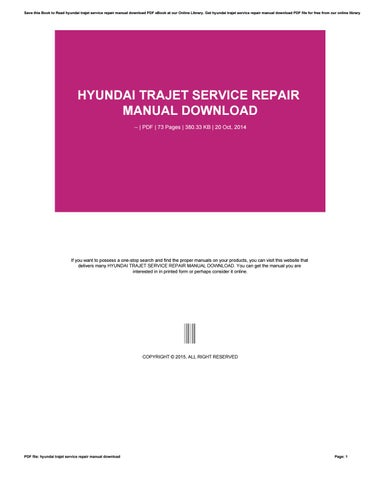 Hyundai i30 service repair manual free download by jay germany issuu hyundai trajet service repair manual download fandeluxe Image collections