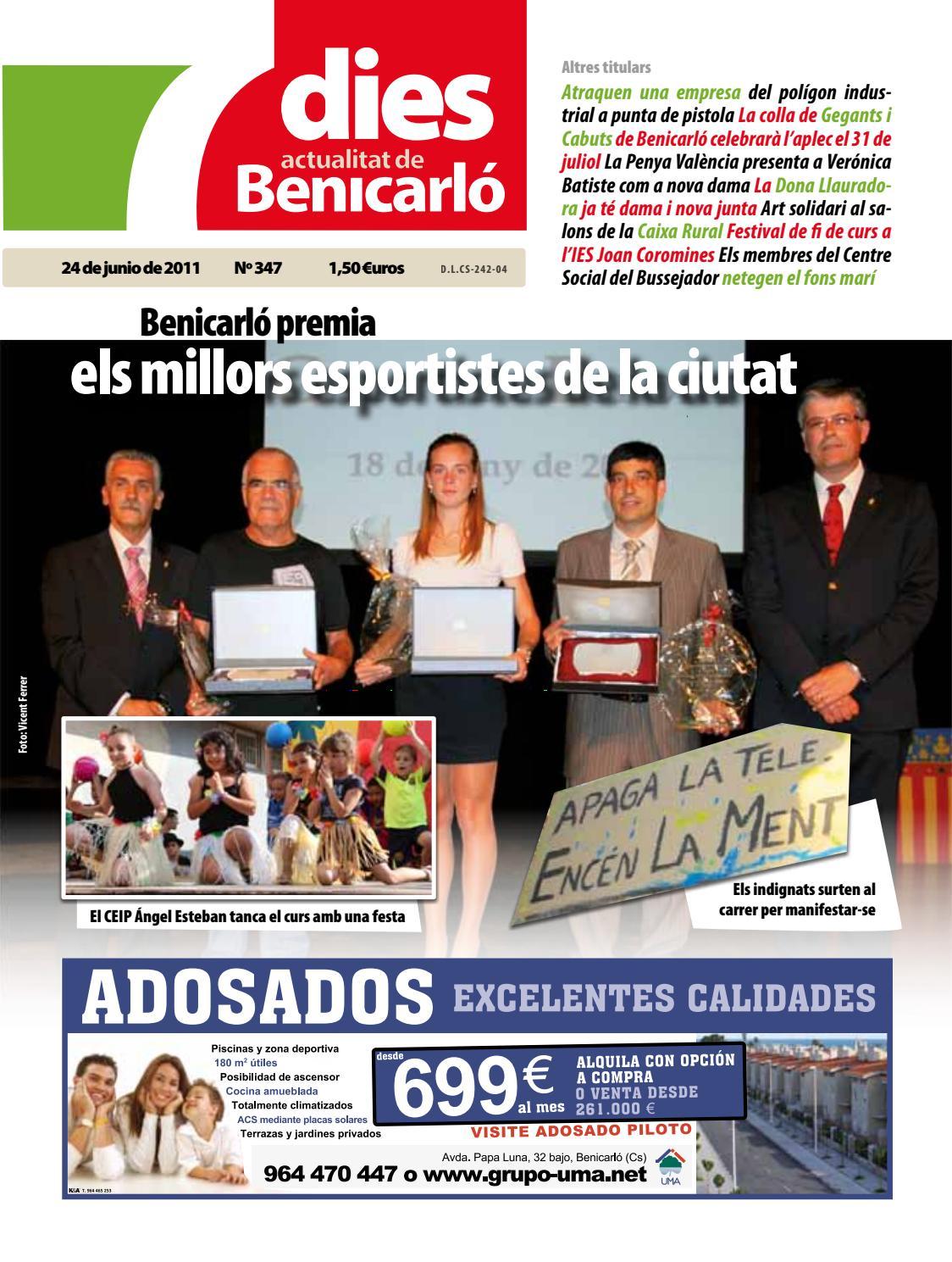 7dies Actualitat De Benicarl 347 24 De Junio 2011 By Editorial  # Muebles Gozalbo Nules