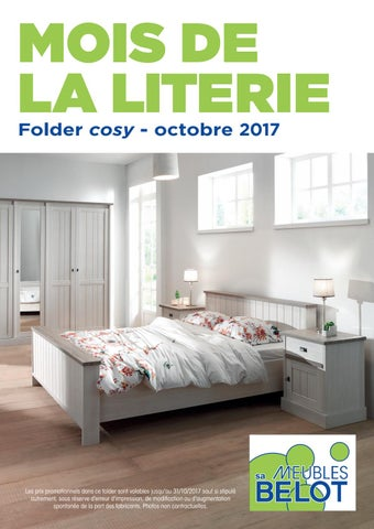 Belot Folders Cosy Octobre 2017 By Meubles Belot Sa Issuu