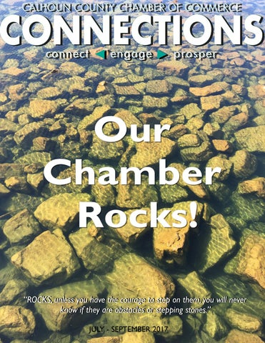 Connections Fall 2017: Our Chamber Rocks! by Calhoun Chamber