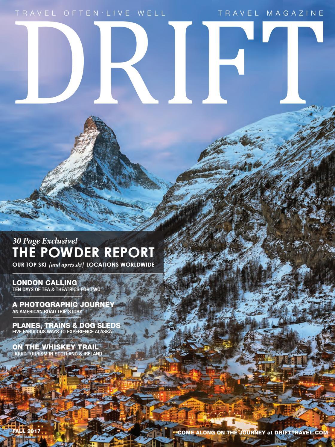 Drift Travel Fall 2017 By