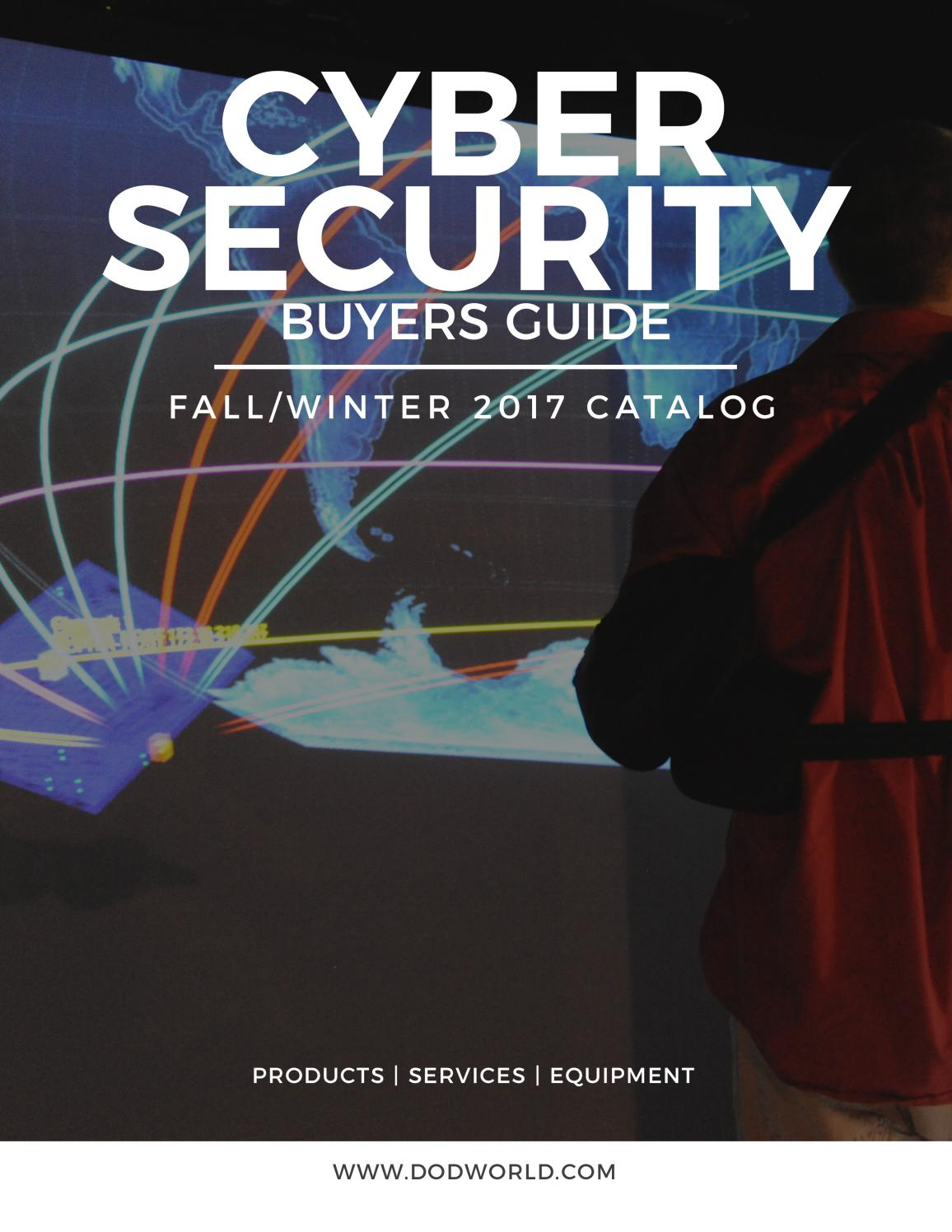 Cyber Security Buyers Guide Fall/Winter 2017 by Federal